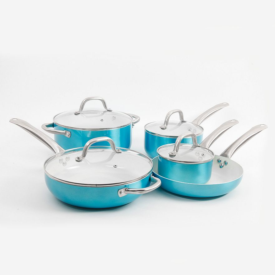 Turquoise Oster Montecielo 9-pc. Cookware Set