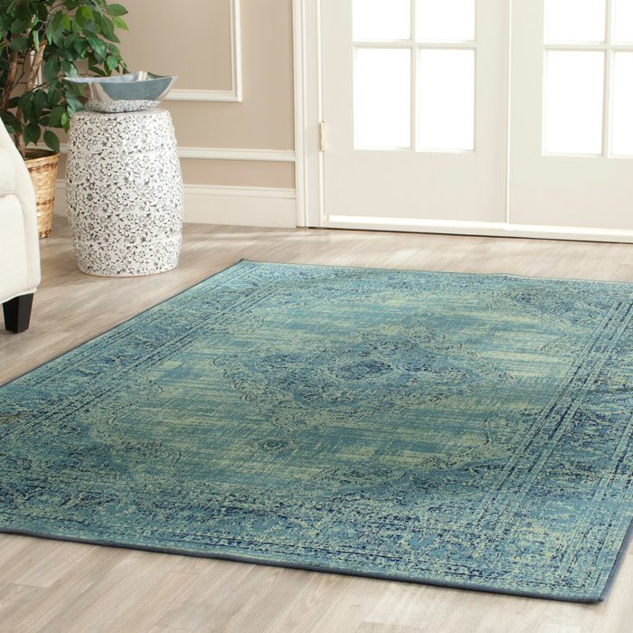 Pair This Stylish Vishnu Turquoise Area Rug With A Weathered Bench For Charming Entryway Ensemble Or Simply Let It Define E On Its Own In Your Den