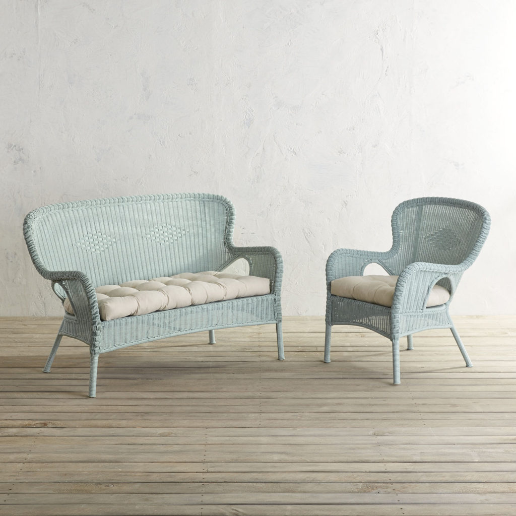 Light Blue 2-Piece Patio Set