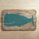 Whale Plank Doormat