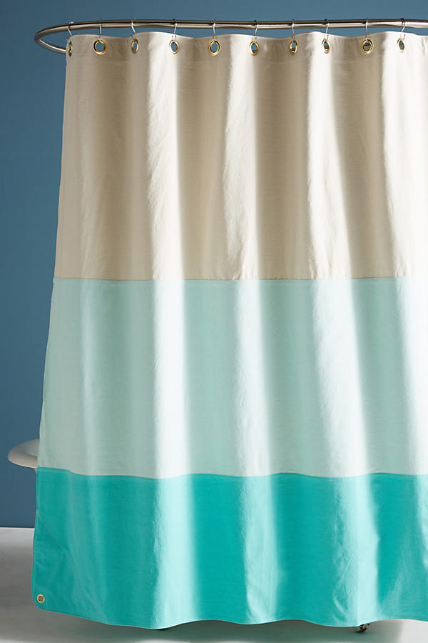 Quiet Town Lido Shower Curtain