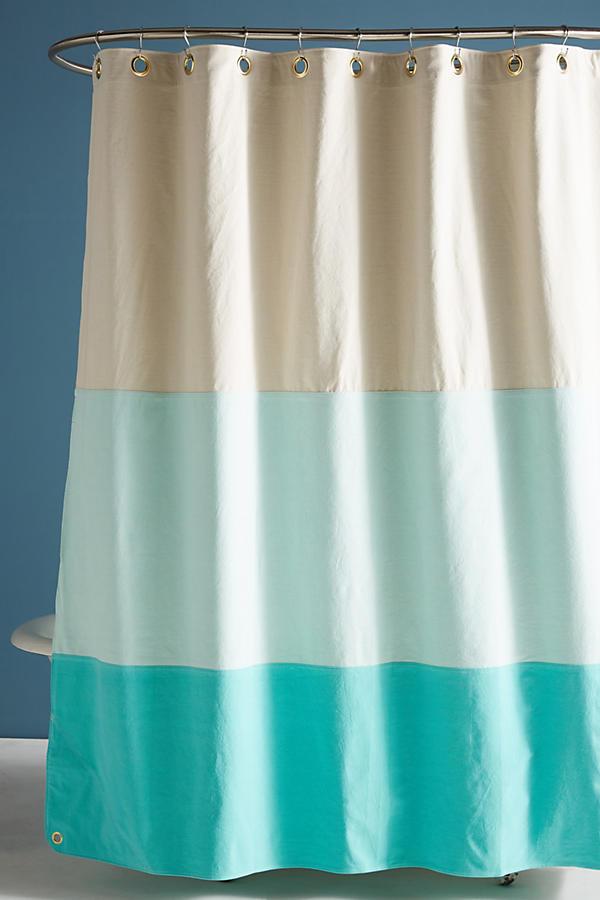 Quiet Town Lido Shower Curtain