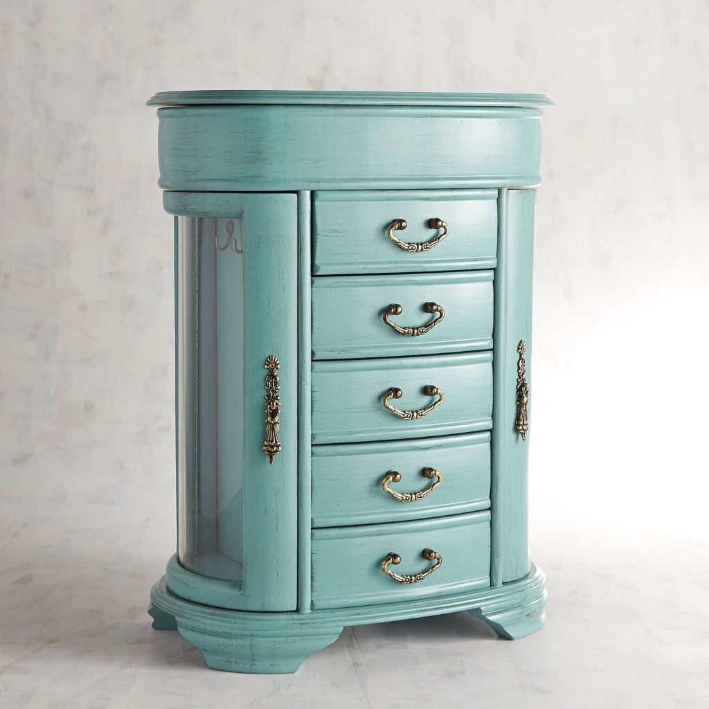 Turquoise Jewelry Chest