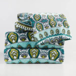 Aqua Mist And Teal Amaris Towel Collection