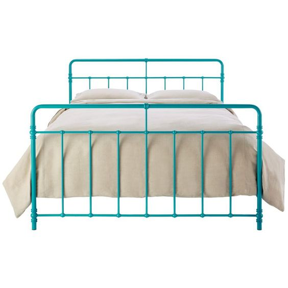 Furniture everything turquoise for Turquoise bed frame