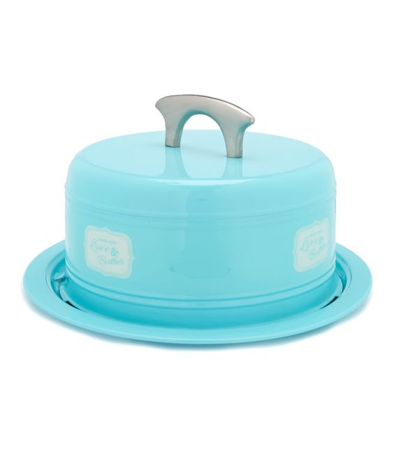 Powder-Coated Metal Cake Carrier