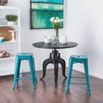 Tabouret 24-inch Peacock Counter Stools
