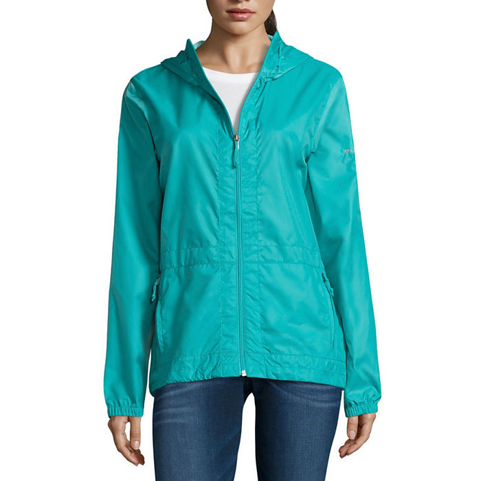 Columbia Rain to Fame Waterproof Hooded Jacket