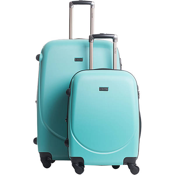 2a09509e4 The CalPak 'Valley 2 ' 2pc Turquoise Lightweight Spinner Luggage Set comes  in a stylish and innovative design constructed with a lightweight and  durable ABS ...
