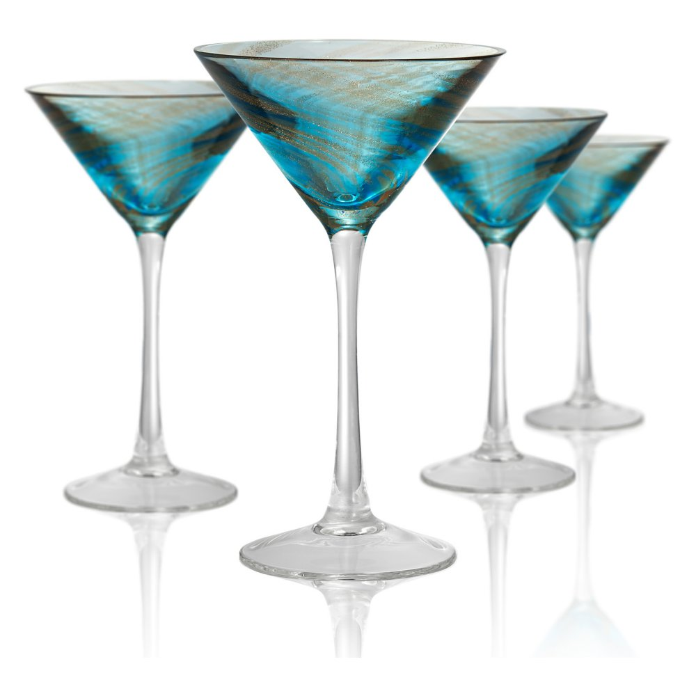 Artland Misty Martini Glasses