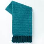 Blue Teal Coziest Solid Throw