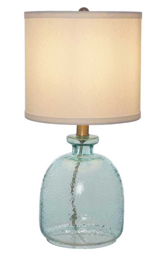 Ocean Glass Accent Lamp Awesome Ideas