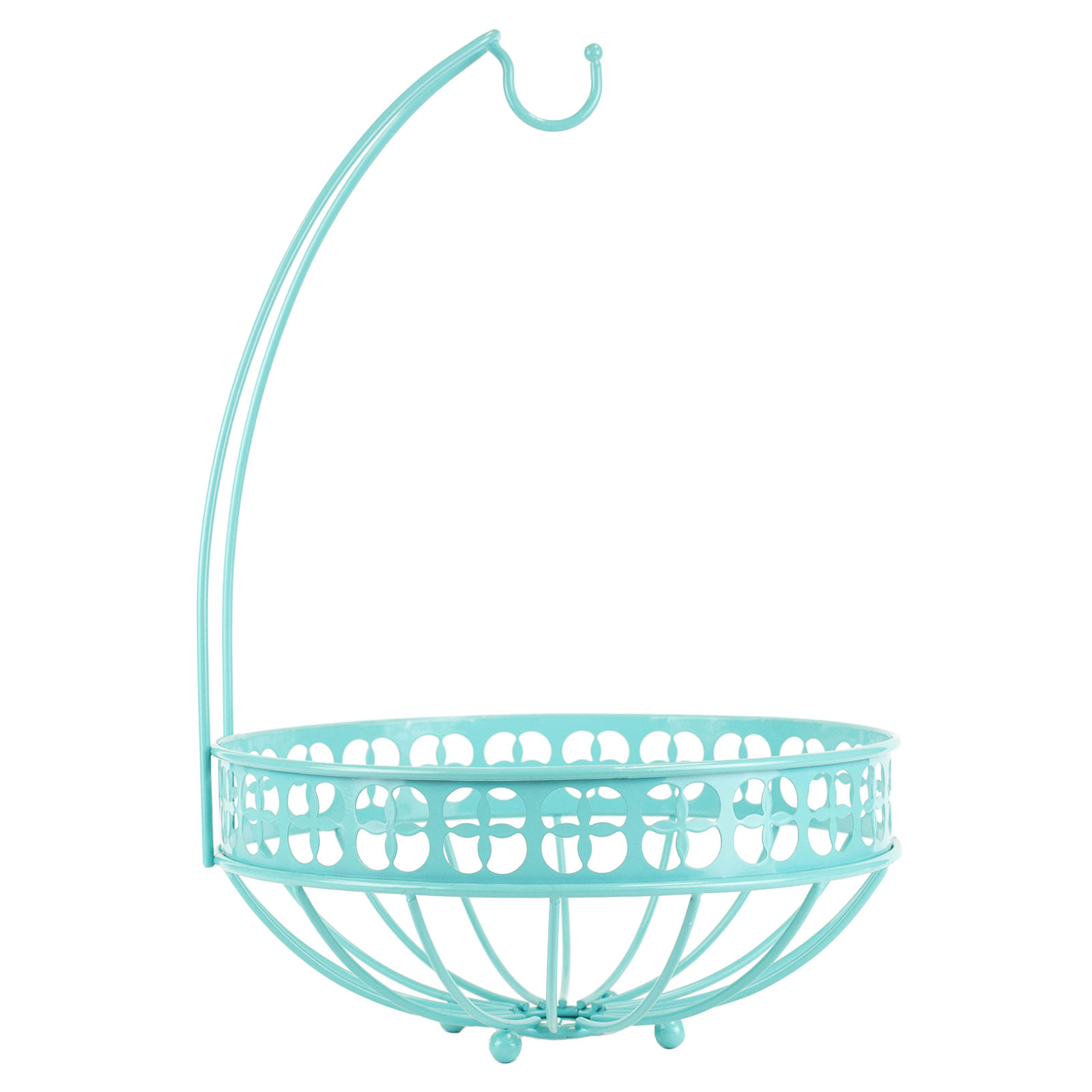 Turquoise Trinity Fruit Basket
