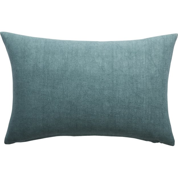 linon artic blue pillow