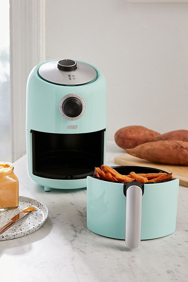 Turquoise Compact Air Fryer