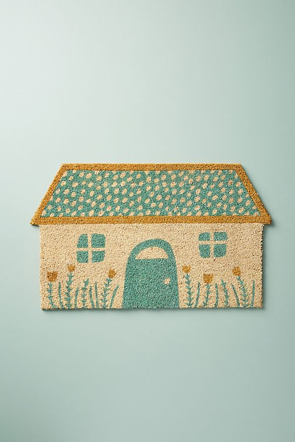 Glittered Home Doormat
