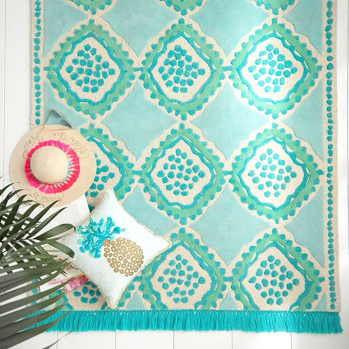 Lilly Pulitzer Spot On Rug