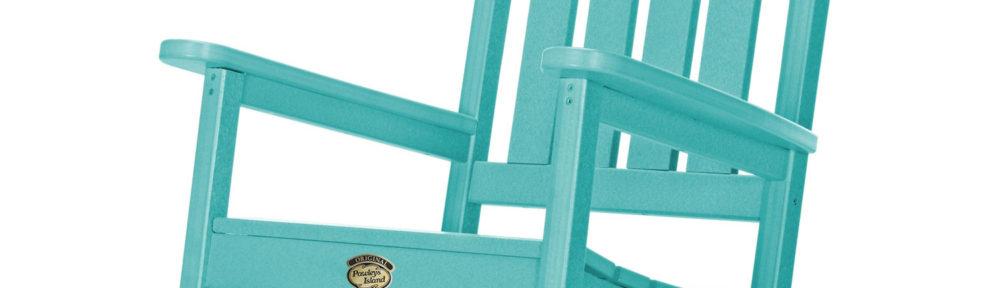 Pawley's Island Sunrise Dew Turquoise Porch Rocker