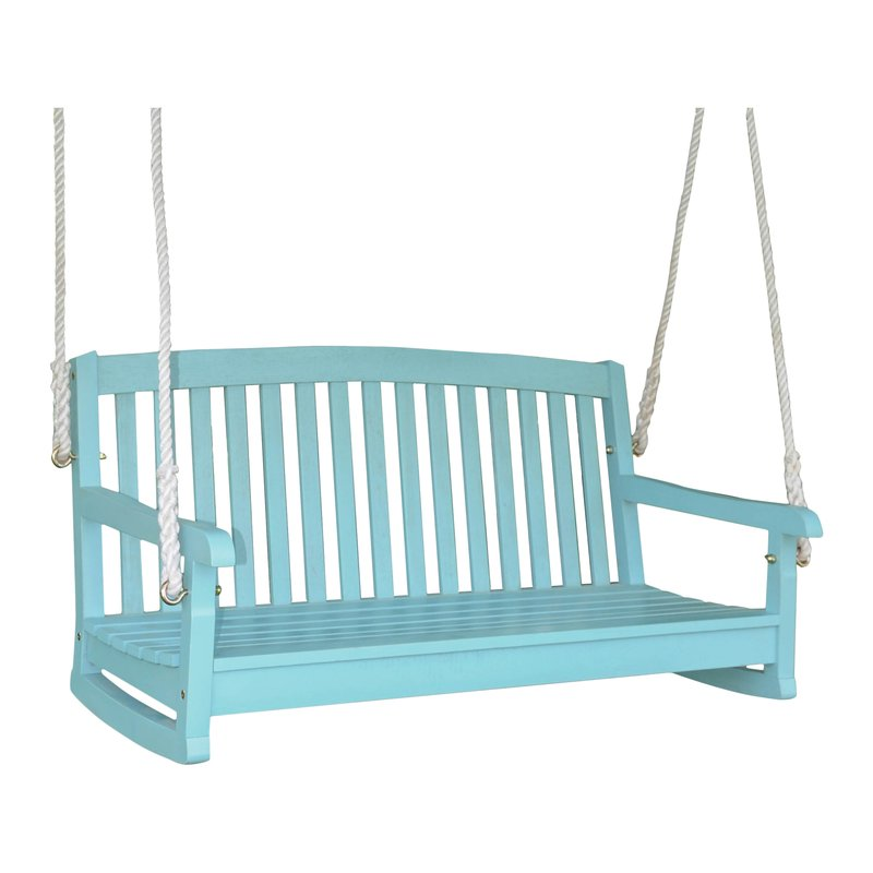 Sky Blue Bristol Porch Swing