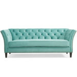 Turquoise Gilmore Chesterfield Sofa