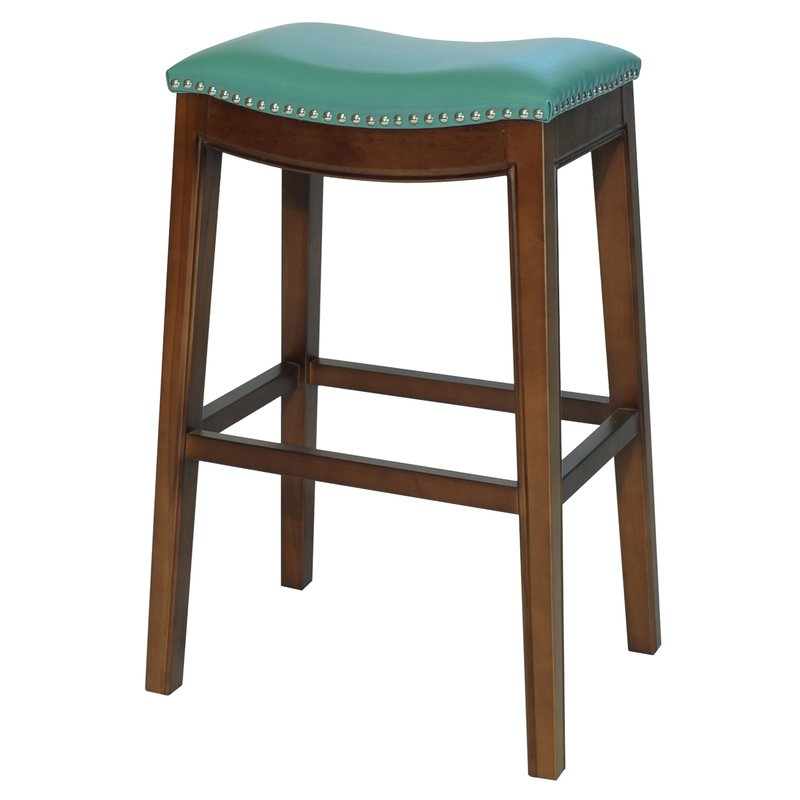 "Turquoise Lilly 31"" Bar Stool"