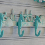 Turquoise Seahorse Hook
