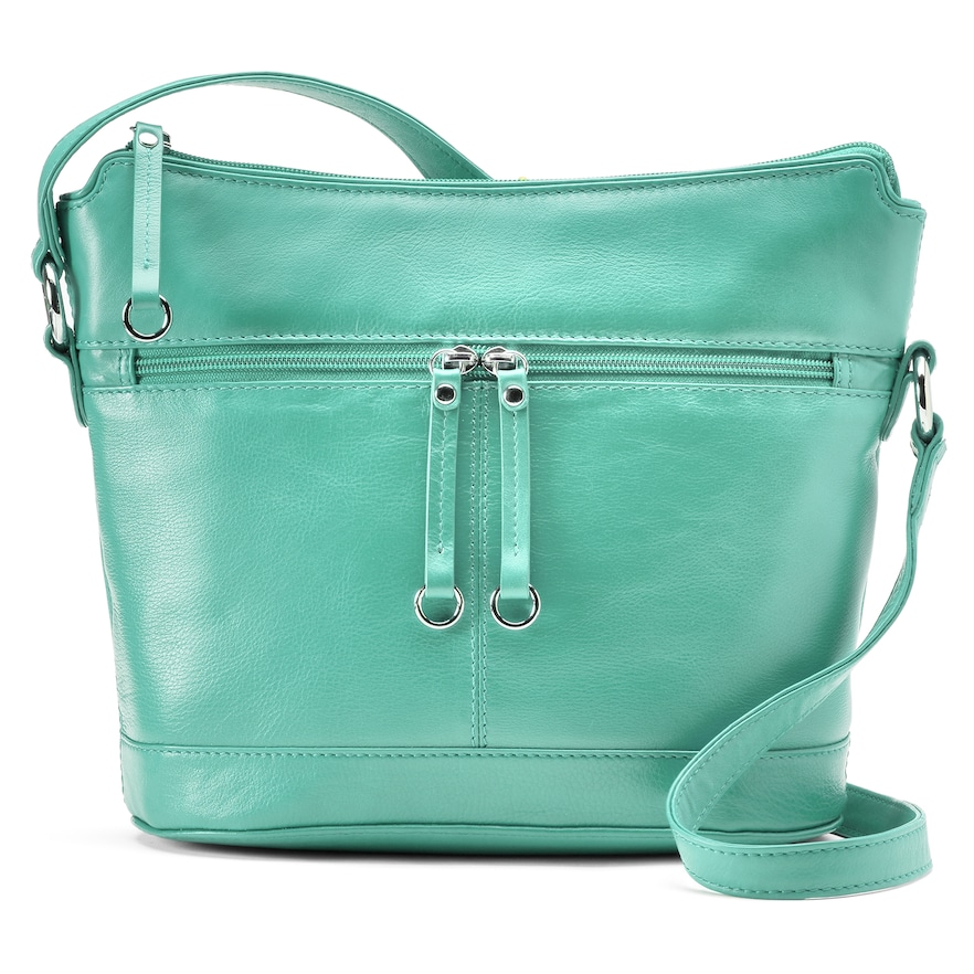 Turquoise ili Leather Hobo