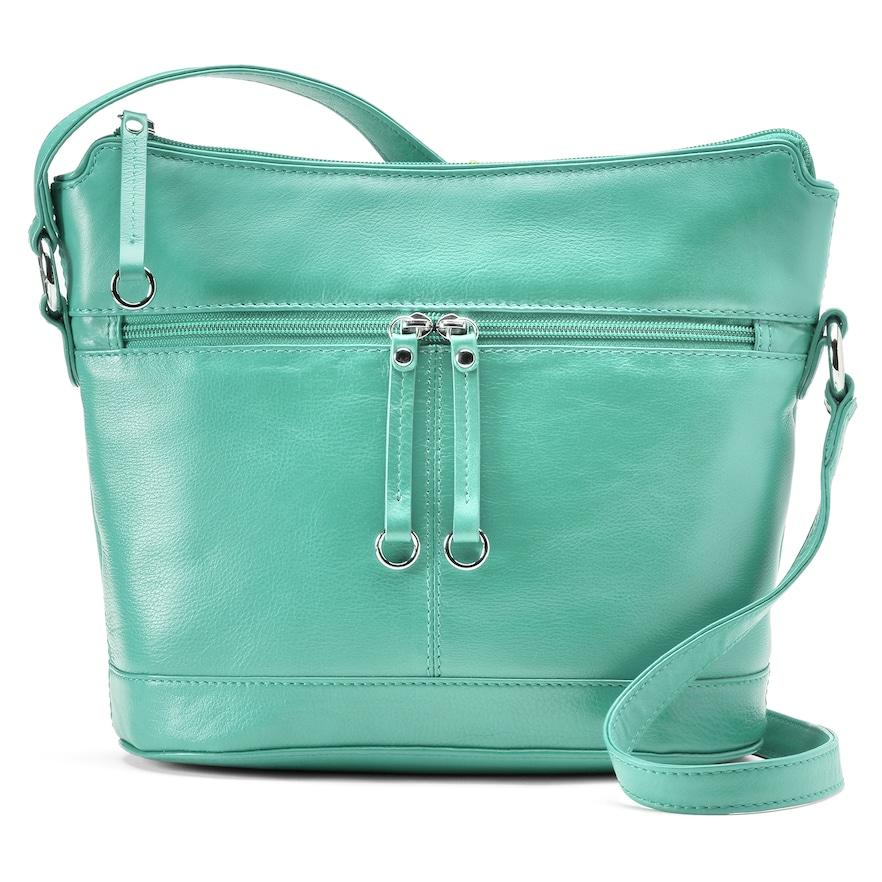 Turquoise ili Leather Hobo