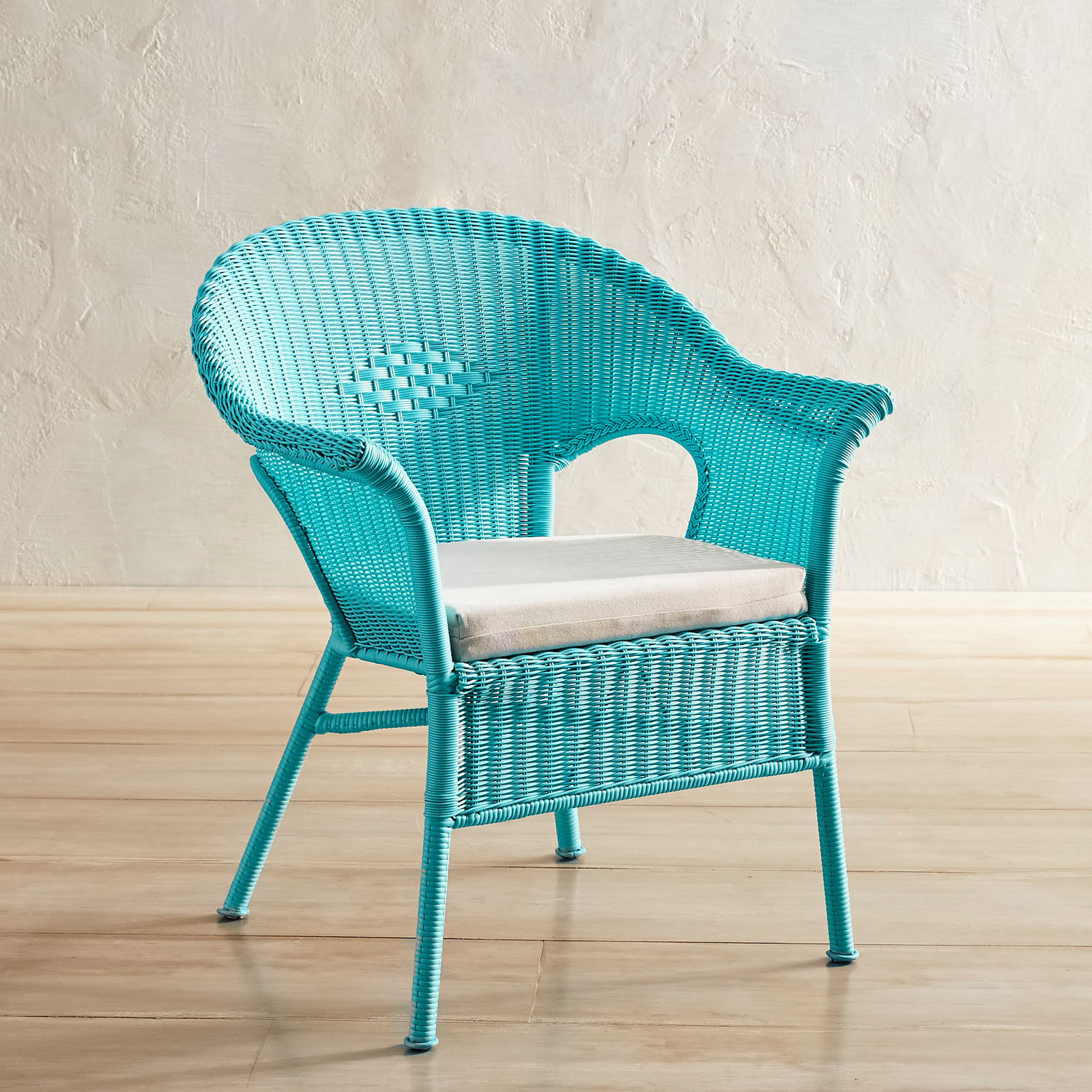 Aqua Stacking Chair Everything Turquoise