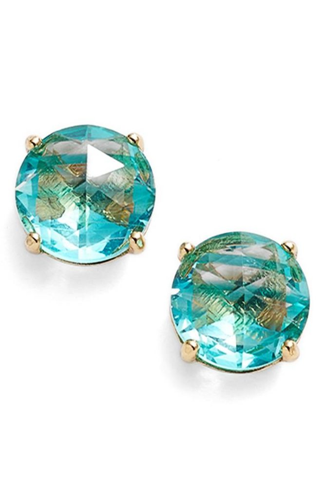 Subtle Stripes Enliven These Vibrant Turquoise Kate Spade Bright Ideas Stripe Stud Earrings Lighting Up Your Lobes With Chic Rous Charm 38