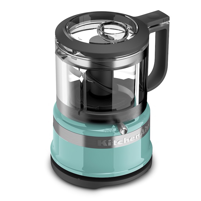 KitchenAid Aqua Sky 3.5 Cup Mini Food Processor
