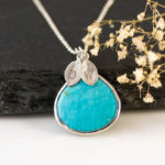 Personalized Turquoise Necklace