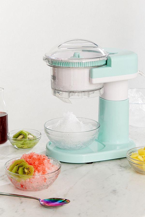 Turquoise Shaved Ice Maker