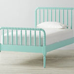 Jenny Lind Teal Twin Bed
