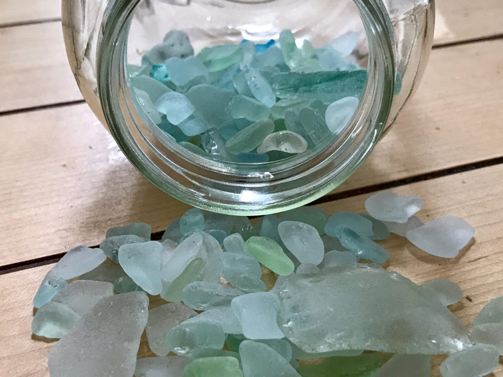 Turquoise & Aqua Maine Sea Glass