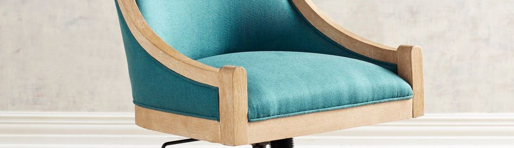 Turquoise Desk Chair