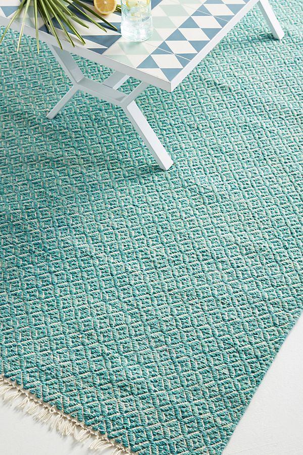 Turquoise Ceanna Indoor:Oudoor Rug