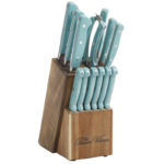Turquoise The Pioneer Woman Cowboy Rustic Cutlery Set